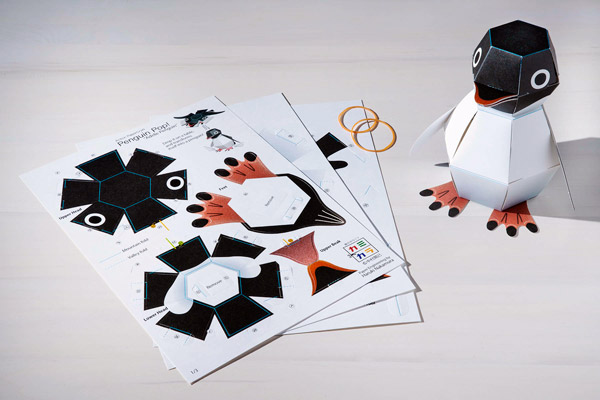 Penguin Pop!: Make your own amazing paper pop-up toy!