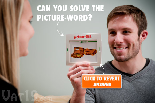 The Picture+This Board Game requires solving picture-words before the timer runs out!
