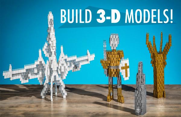Build 3D Models!