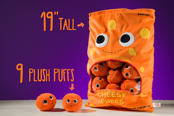 Plush Cheesy Puffs