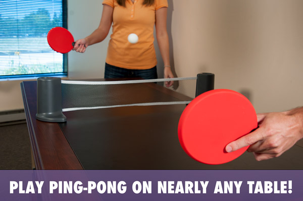 Pongo Play Ping Pong On Nearly Any Table