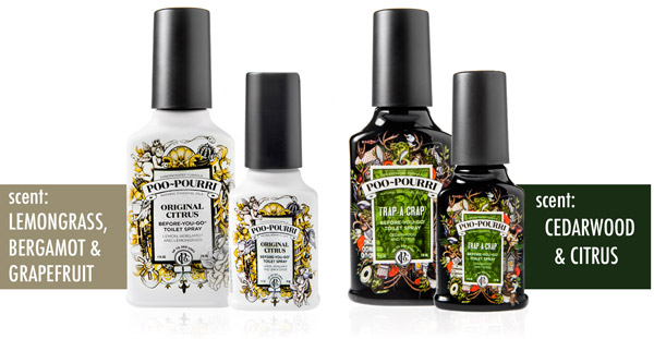 Poo-Pourri is available in a variety of sizes and scents.