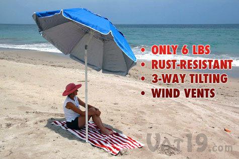 The Portabrella Beach Umbrella Is A Lightweight Compact And Portable