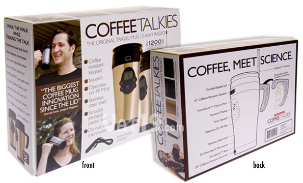 Prank Packs Coffee Talkies