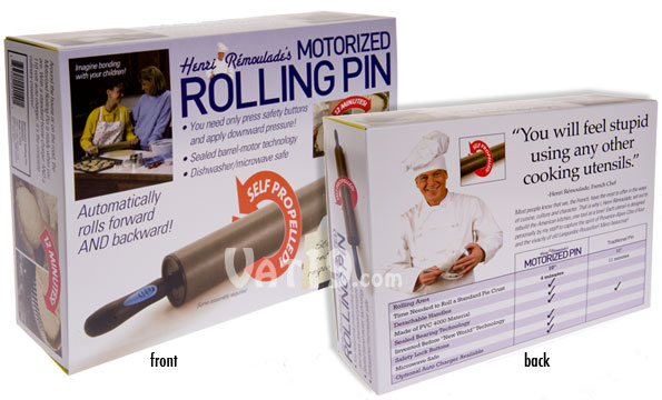 Prank Packs Motorized Rolling Pen