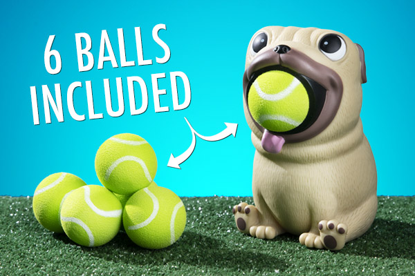 Includes popper and six foam balls.