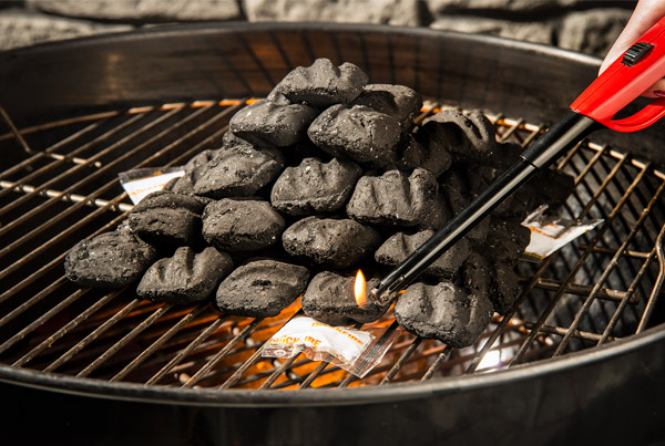 QuickFire Fire Starters in your barbeque.