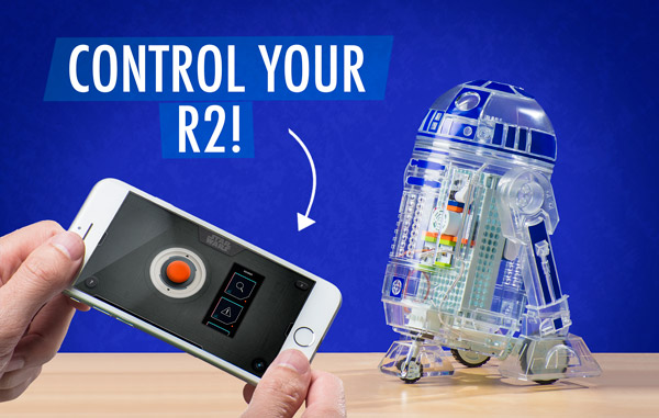 Control R2 with your smartphone.