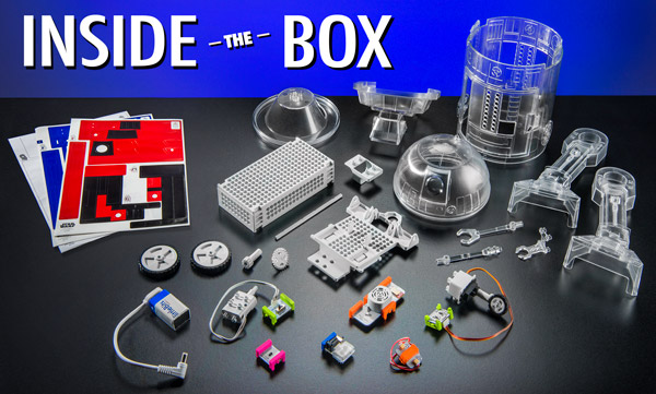 Droid Inventor Kit contents