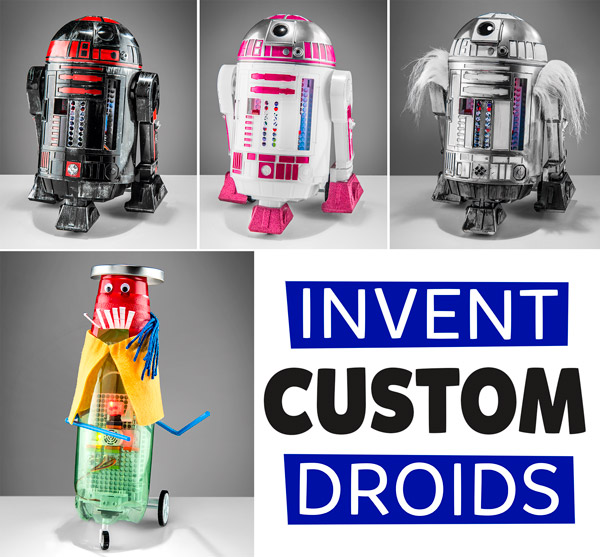 Droid Inventor Kit Create Your Own Star Wars Droid