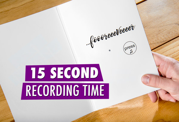 Record a 15 second message.