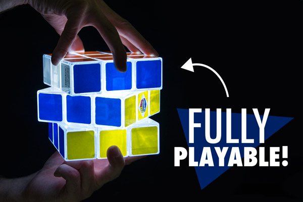 Rubik S Cube Light Fully Playable And Rechargeable