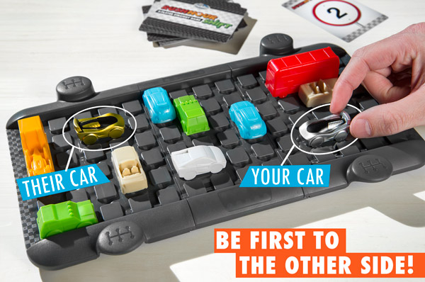 Be the first car to the other side!