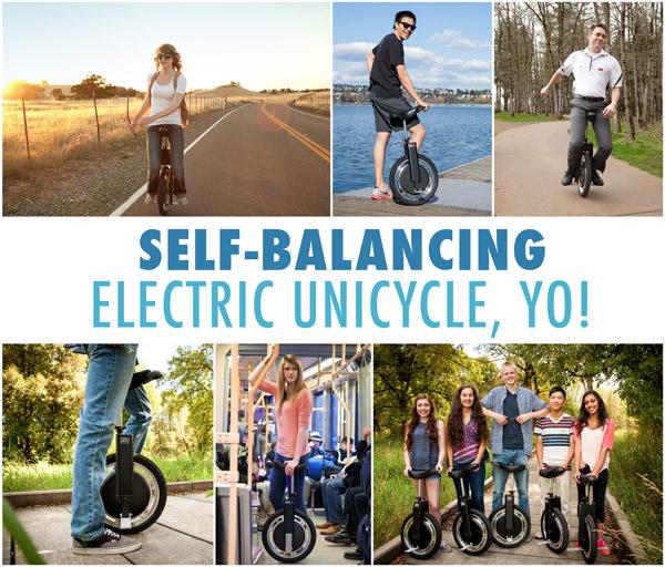 Self-balancing electric unicycle, yo!