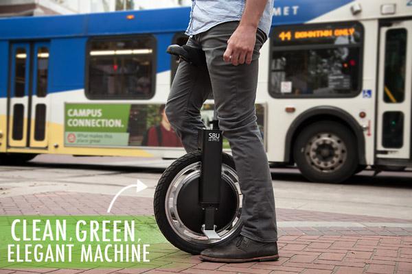 Clean, green, elegant machine