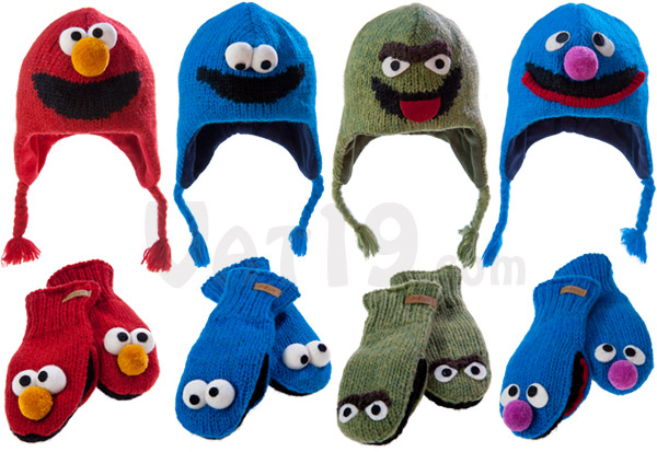 Sesame Street Knit Wits are available in some of the most popular Sesame Street characters.