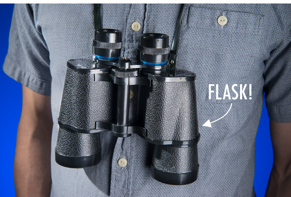 Hyper-realistic flasks