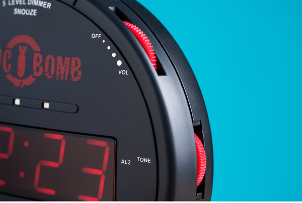 Adjustable snooze, alarm, and display