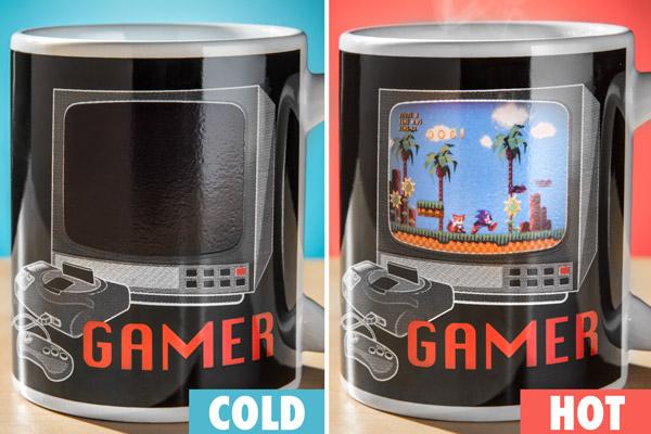 Sonic the Hedgehog Heat Change Mug Collectors Edition