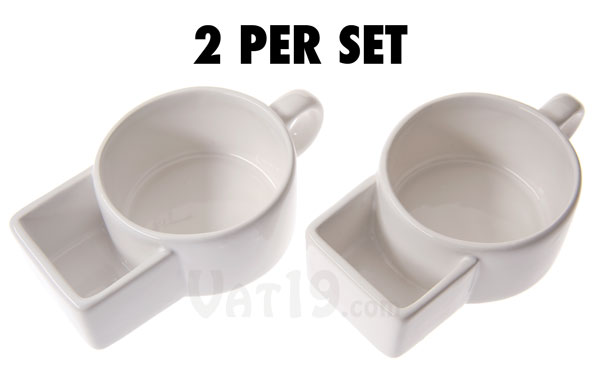 Soup Cracker Mugs Soup Bowls With A Built In