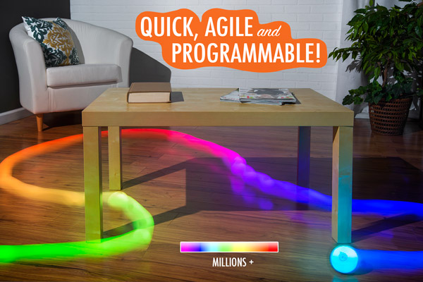 Programmable LED lights