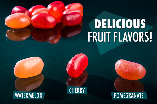 Three fruit flavors