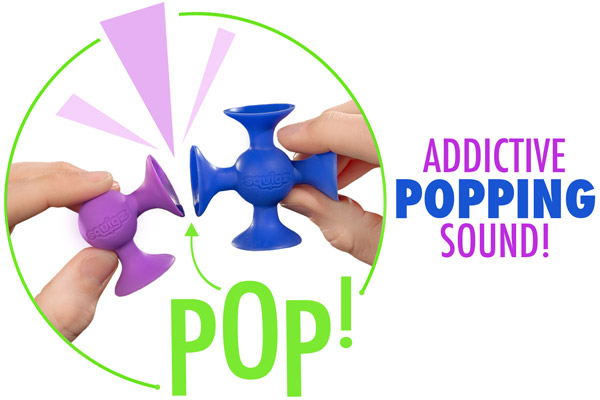 Addictive popping sound!