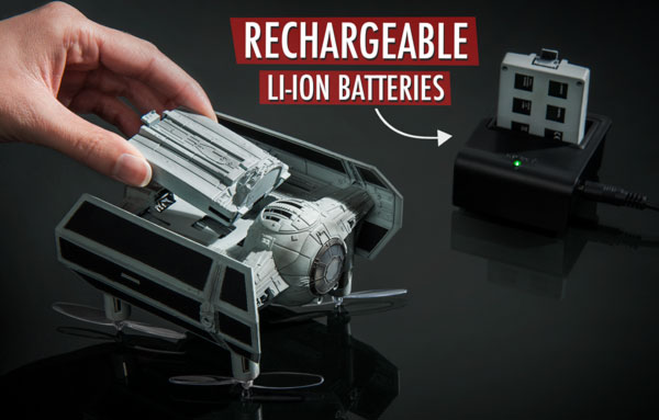 Rechargeable Li-ion batteries