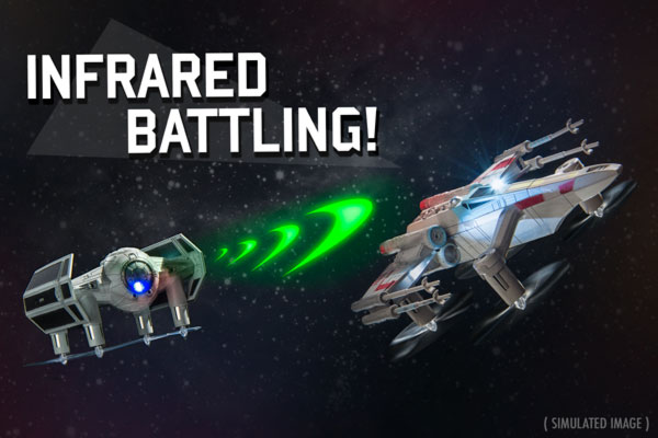 Star Wars Battling Drones