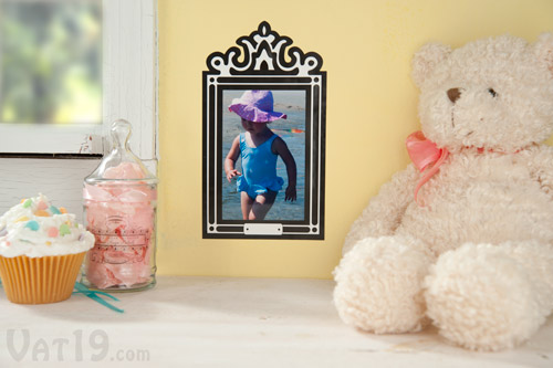 StickR Frame Sticker Picture Frames are stylish in any decor.