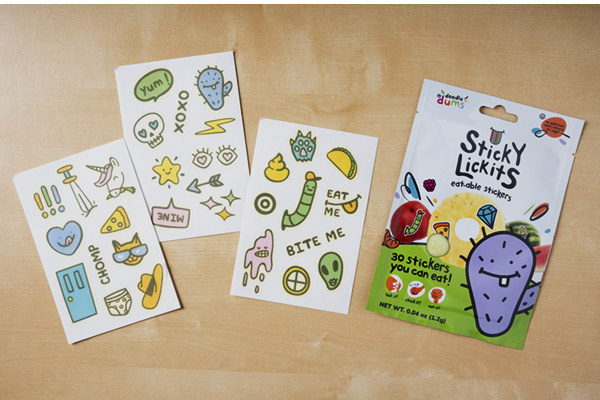 Each set includes 3 sheets and a total of 30 unique stickers!