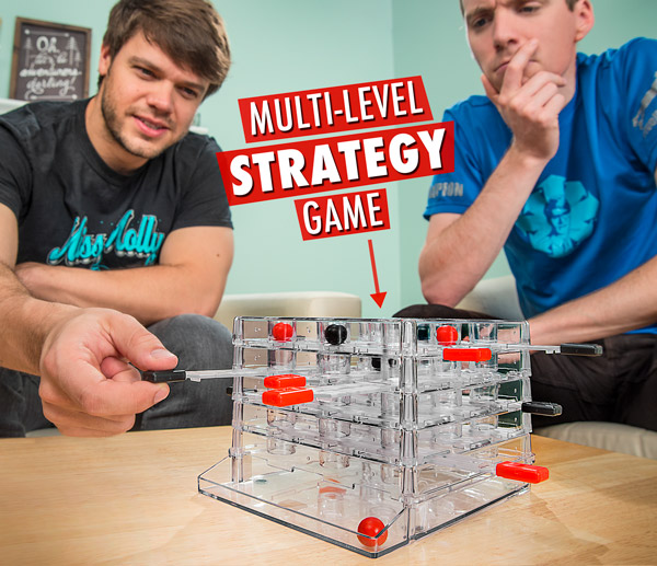 Multi-level strategy game