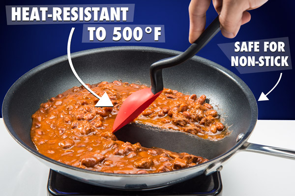 Supoon safe for non-stick cookware