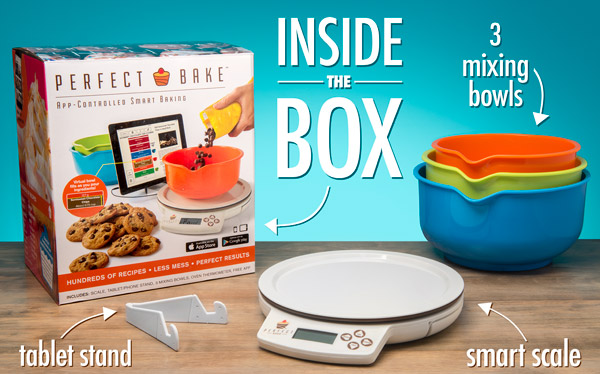 The perfect bake app controlled smart baking for Perfect bake scale system