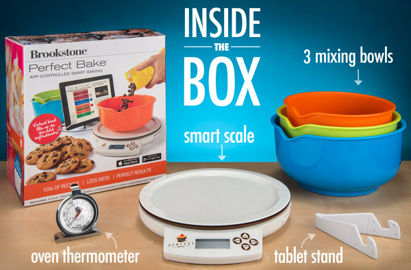 The perfect bake app controlled smart baking for Perfect drink smart scale