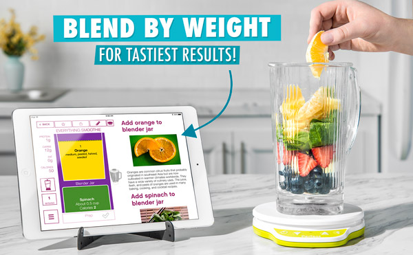 Blends by weight for tastiest results!