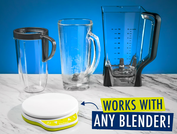 Works with any blender!