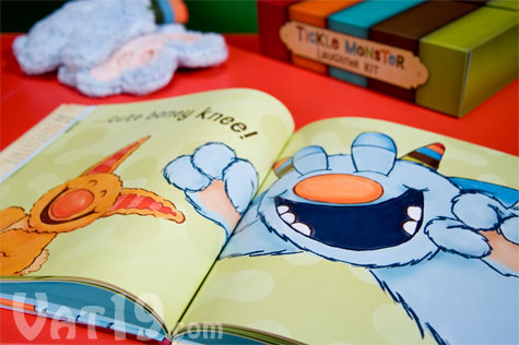 The Tickle Monster Book is a wonderful story of laughter and love featuring bright, cuddly illustrations.