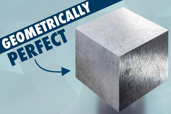 Geometrically perfect cube