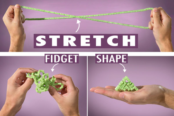 Twiddle Mega is perfect for fidgety hands