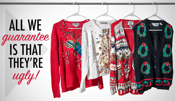 Ugly Christmas Sweaters: Authentic and Charmingly Atrocious