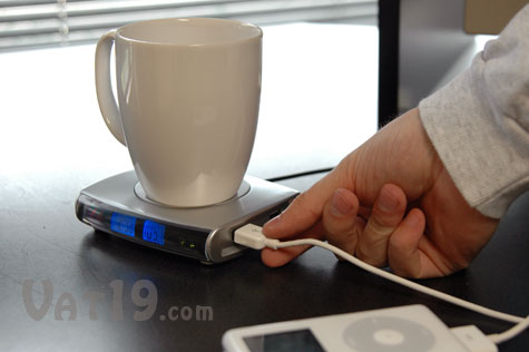 Usb Drink Warmer With 4 Port Usb Hub Keeps Coffee Warm