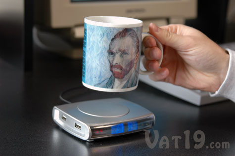 USB Drink Warmer keeps your coffee warmer