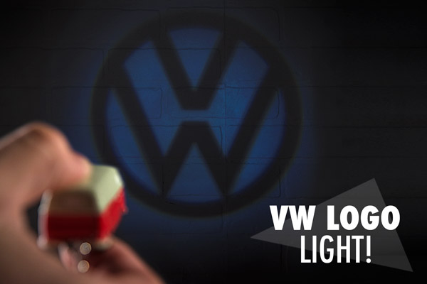 VW logo light!