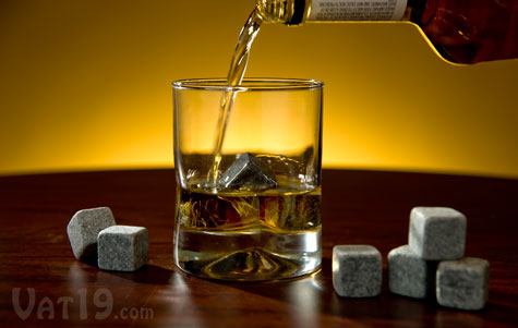 Whiskey Stones keep your bourbon chilled without diluting it.