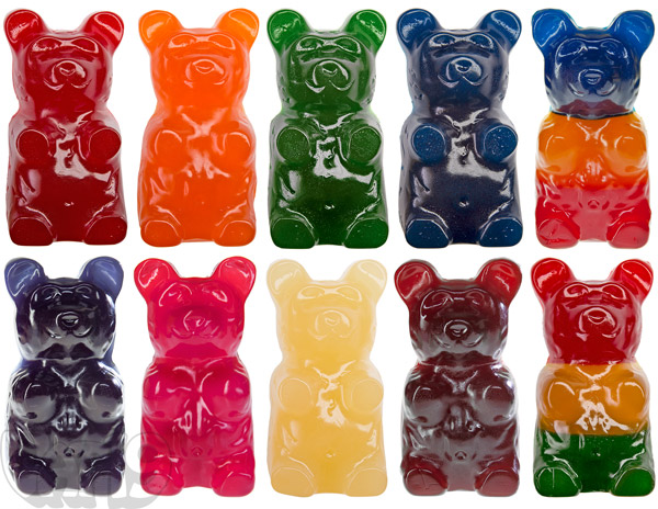 ff2ee7c819cd The World s Largest Gummy Bear is available in red cherry