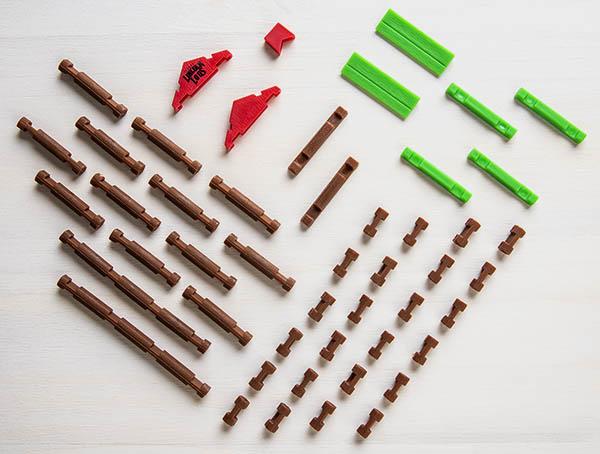 A complete 49-piece set