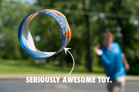 The X-Zylo Ultra flying ring is for advanced throwers.