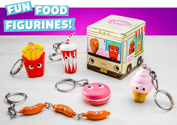 Fun food figurines