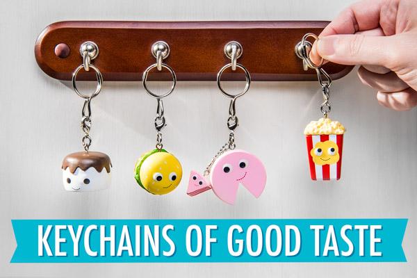 Keychains of good taste